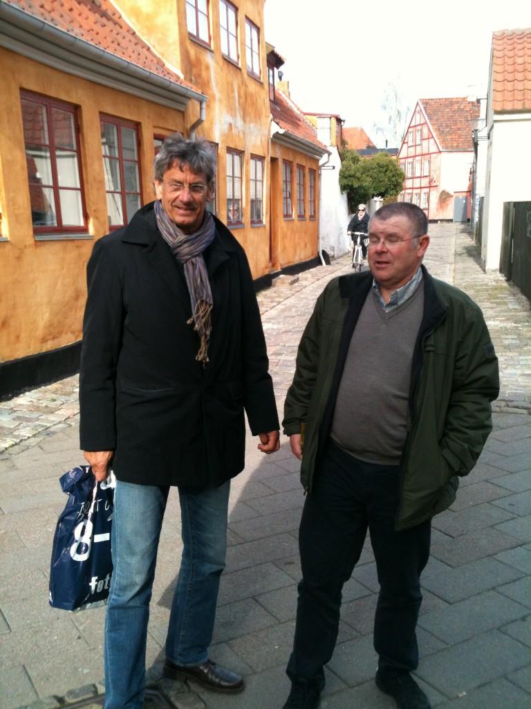 Småhandel på smågatorna, Fötex i Helsingör, Stephan och Kenneth