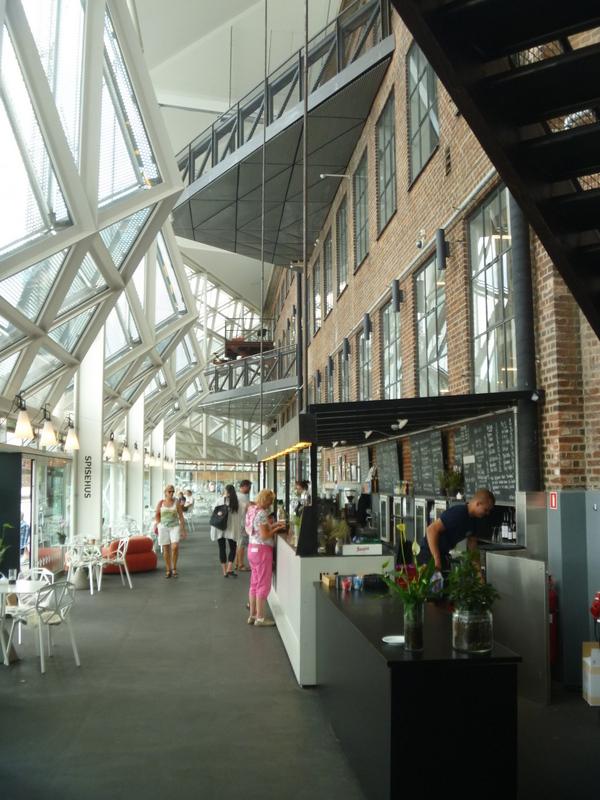 det nya biblioteket i Helsingör
